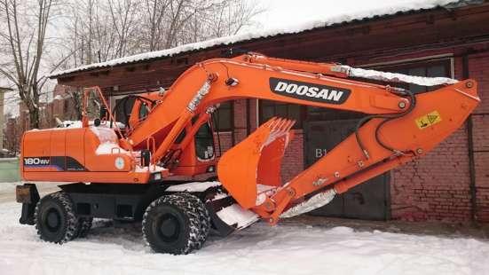Колесный экскаватор Doosan DX180WV новый, в наличии!
