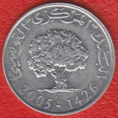 Тунис 5 миллимов 2005 г. в Орле Фото 1