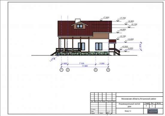 Профессиональный архитектор выполнит проекты для загородного индивидуального строительства (коттеджи).