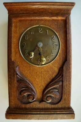 Часы настольные «Фридрих Винтеръ», Россия, конец XIX века.
