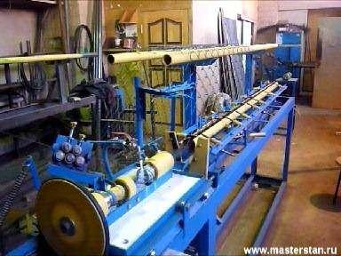 Станок для изготовления рабицы  АСУ-174 в Краснодаре.