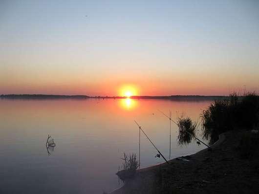 Участки у большого рыбного озера Большой Куяш