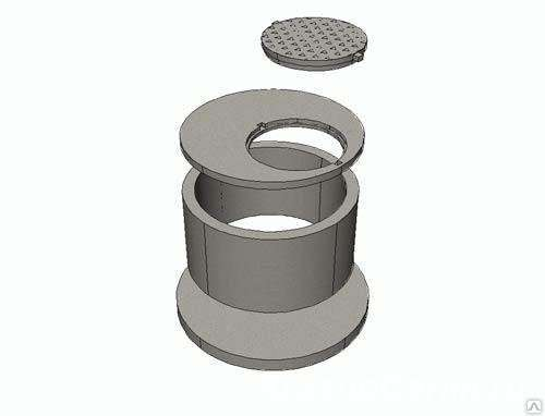 Плита перекрытия для колодца ПП   7-1