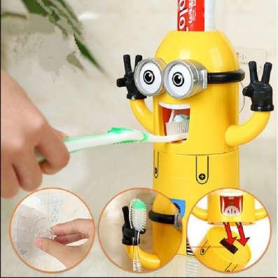 Детский дозатор зубной пасты Миньон в Санкт-Петербурге Фото 1