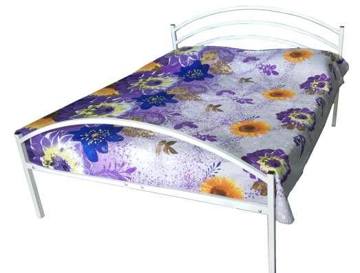 Кровать двухспальная, металлическая