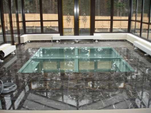 Полы из стекла в г. Караганда Фото 2