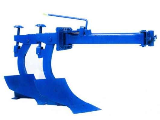 Минитрактор Скаут T-24 + фреза + двухкорпусный плуг 220