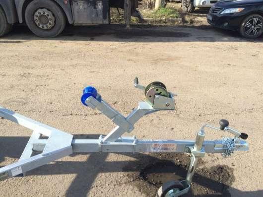 Легковой прицеп для водной техники 3,5м оцинкованный