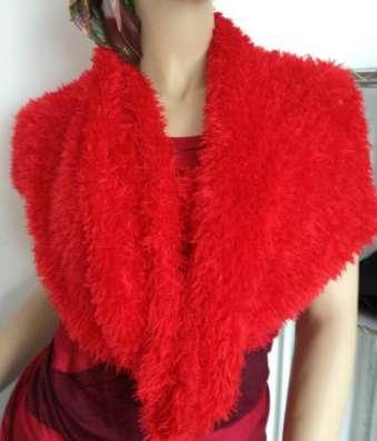Шарф - платье - трансформер красный