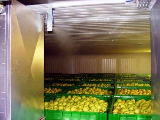 Монтаж холодильных камер для хранения яблок в Крыму. в г. Симферополь Фото 2