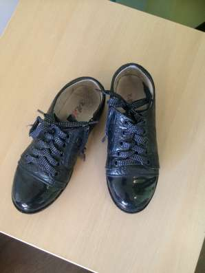 Синие ботинки ulet 32