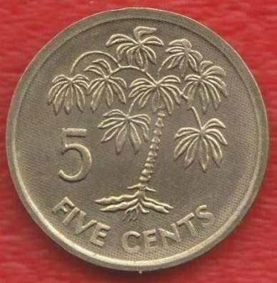 Сейшельские острова 5 центов 2007 г. Сейшелы