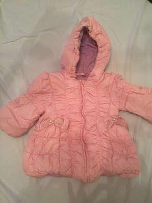 Зимняя набор для девочек, размер 86