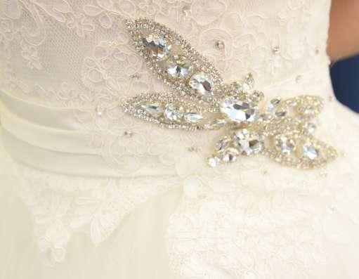 Пышное свадебное платье Amore MIO+фата и подвязка