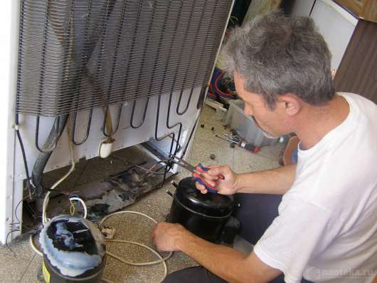 Замена мотора - компрессора