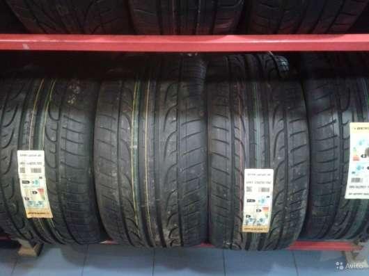 Новые шины Dunlop 315/35 R20 Sport Max ранфлет