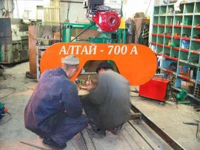 Ленточная пилорама Алтай 700 (бензиновая) в Красноярске Фото 1