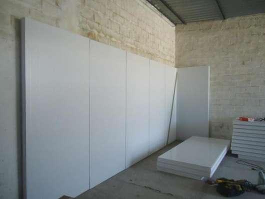 Сендвич панели для холодильных камер в Симферополе. в г. Симферополь Фото 1