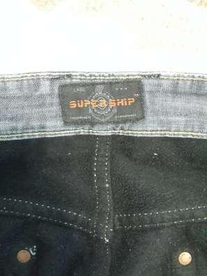 Мужские джинсы с начесом