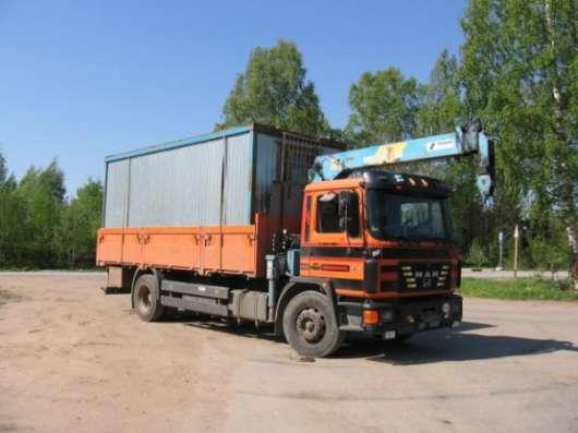 Грузоперевозки манипулятором грузовик с краном-манипулятором Спб Санкт-Петербург