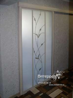 Двери с оформлением витражами в Набережных Челнах Фото 2