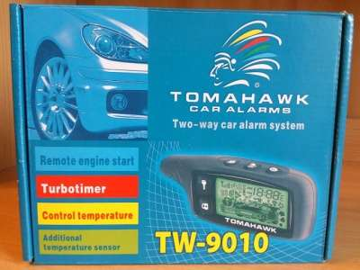 Сигнализация tomahawk TW9010