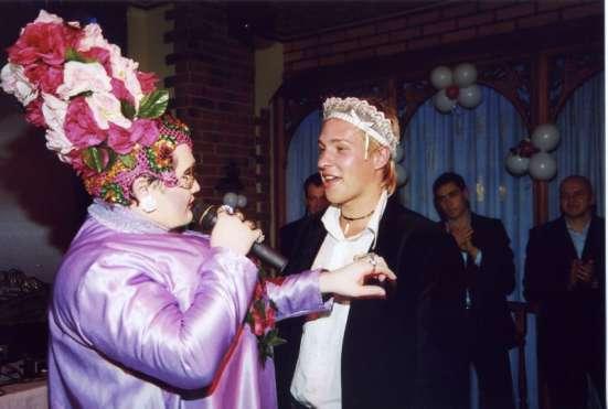 Двойник Сердючки, тамада, свадьба, юбилей