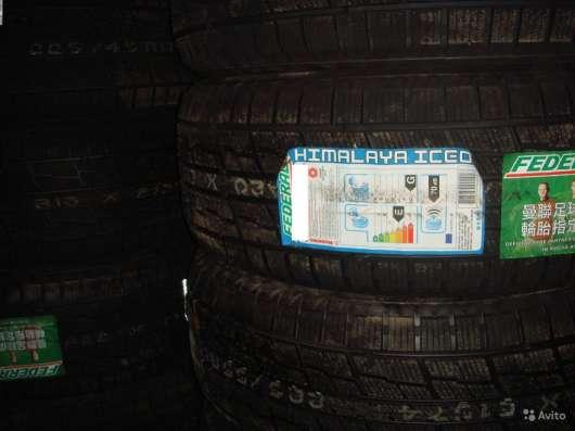 Новые липучки Federal 215 55 R16 Himalaya iceo