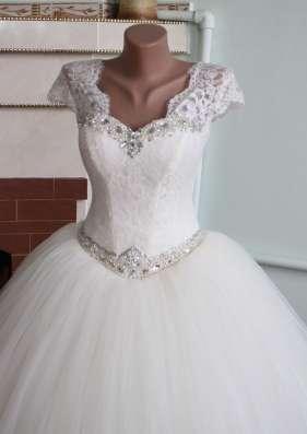 Свадебное платье новое с маленьким рукавчиком в г. Симферополь Фото 3