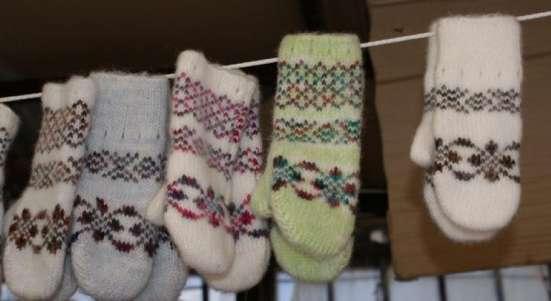 Подростковые перчатки и варежки