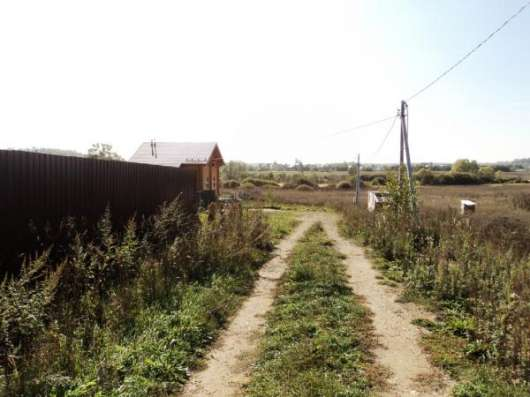 25 соток в тихой деревне Шеломово, 95 км от МКАД.