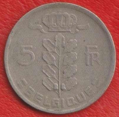 Бельгия 5 франков 1949 г. BELGIQUE