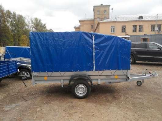 Автомобильный прицеп Трейлер 3,0х1,5м для перевозки снегохода, квадроцикла в Москве Фото 5