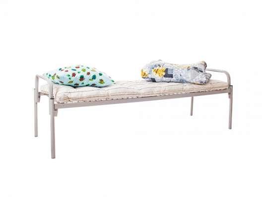 Металлические кровати для общежитий.