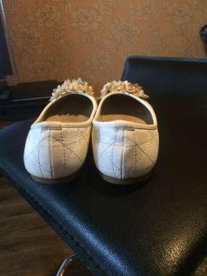 Свадебные туфли (балетки) в Новосибирске Фото 1