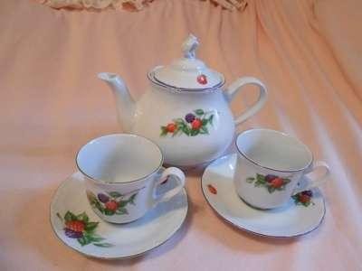 Чайный набор. Чешский фарфор
