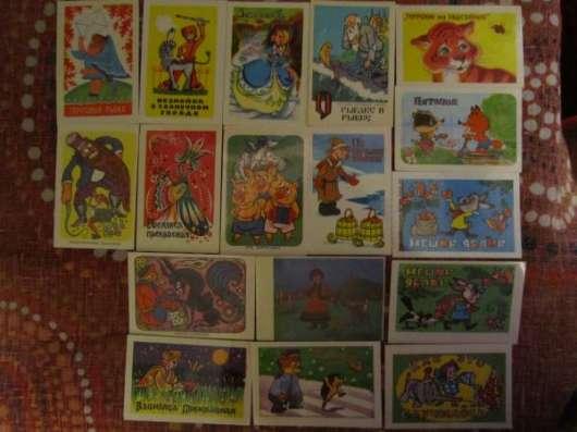 Календарики 70-х -80-х годов, мультфильмы в Краснодаре Фото 4