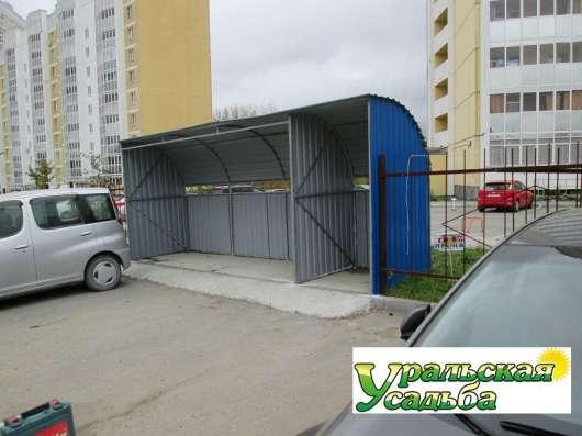 Контейнерная площадка для сбора мусора в Екатеринбурге Фото 4