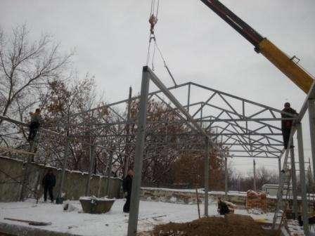 Строительство и монтаж опалубки фундамента