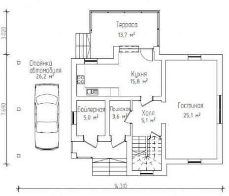 Продается: дом 131 м2 на участке 7 сот в Иванове Фото 2