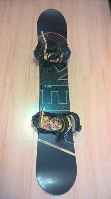Сноуборд с креплениями Elan Aero + Forum Lein