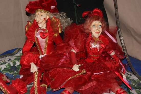 Две венецианские фарфоровые куклы