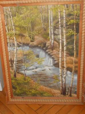 Продам картину художника А. Зайцева Вессна в Карптах