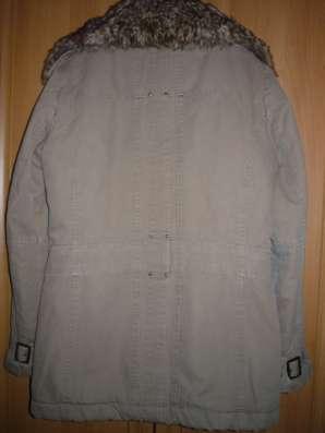 Зимняя куртка в стиле милитари