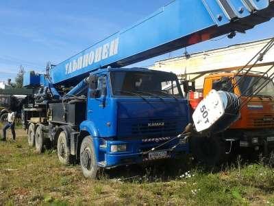 автокран КАМАЗ Ульяновец МКТ-50.1. в Челябинске Фото 1