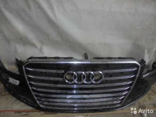 Бампер передний на Audi A8 D4