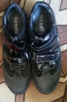 Кросовки из кожи Genalli