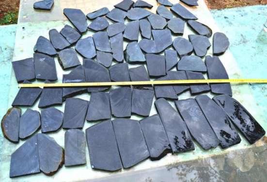 Нефрит. Плитка декоративная отделочная из камня