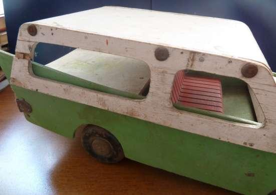 Игрушка машина деревянная СССР 1950 винтаж в Орле Фото 4