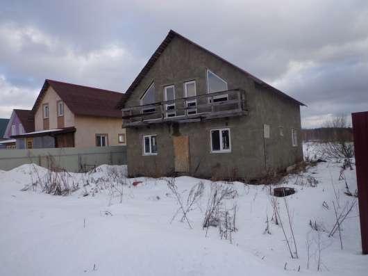 Дача 2-этажа, 160 кв. м пеноблок. Без отделки в г. Михнево Фото 5